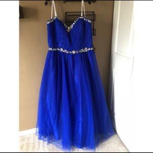 Gorgeous Royal Blue Prom/Gala Dress!